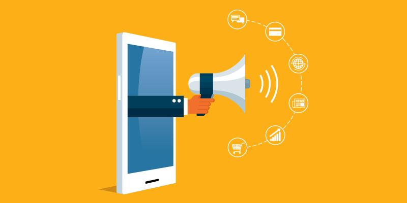بازاریابی موبایلی با پوش نوتیفیکیشن